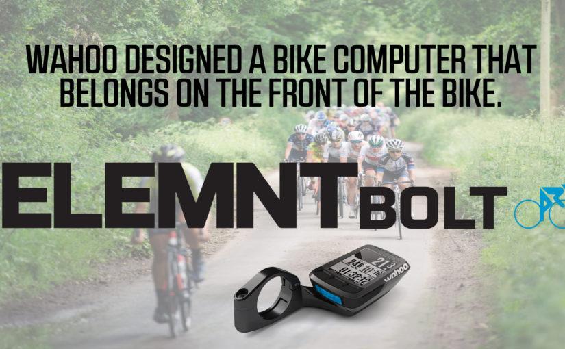 De Element Bolt een nieuwe fietscomputer van Wahoo Fitness